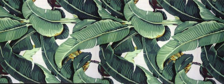 Original Classic Martinique Banana Leaf Wallpaper Patterns 797300 736x277