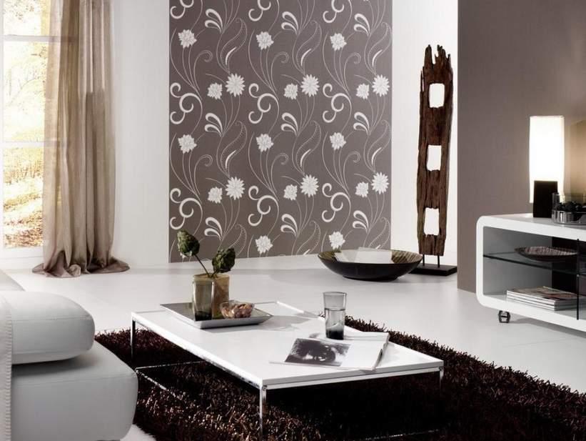 Free Download Motif Wallpaper Dinding Ruang Tamu Minimalis