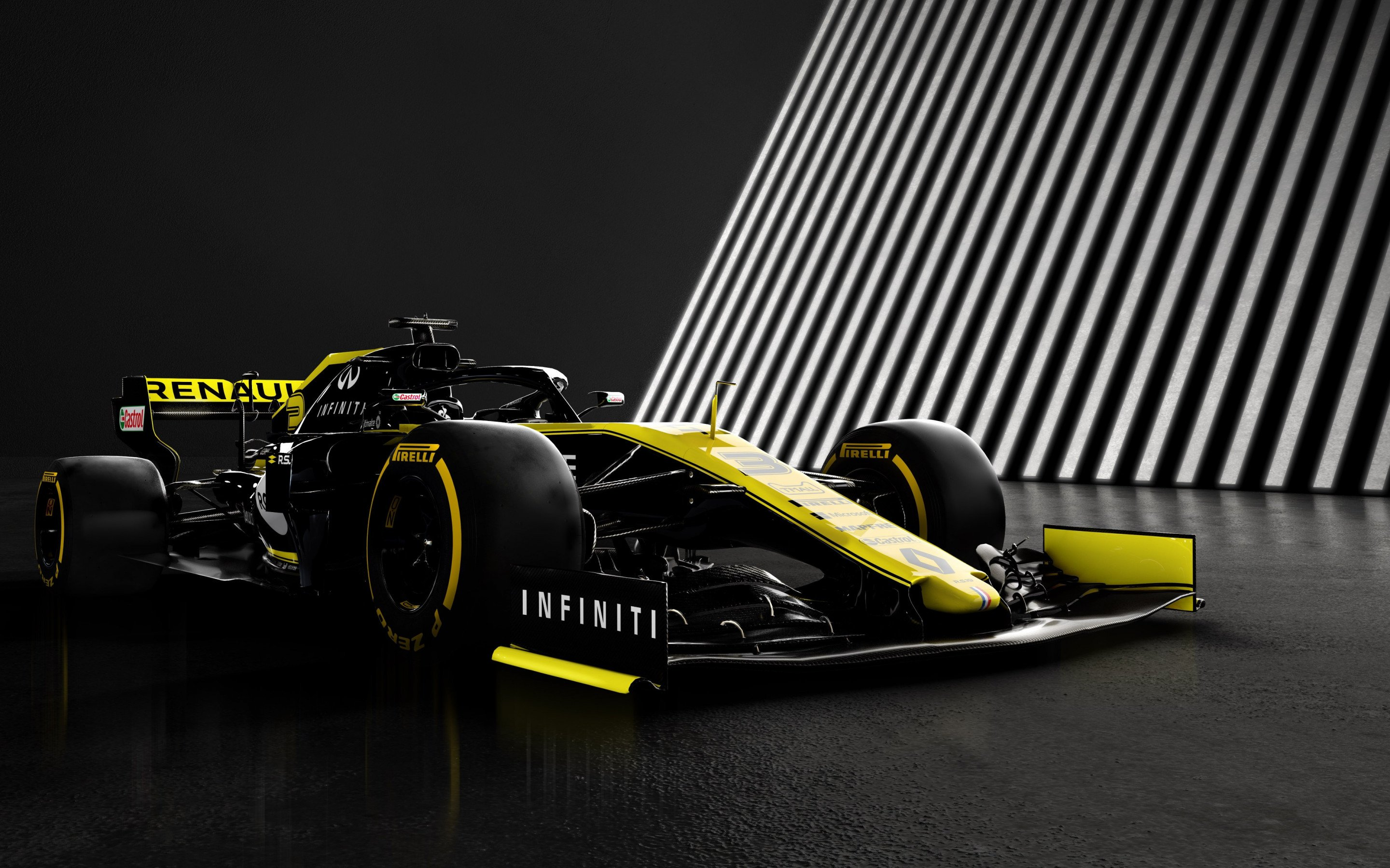 Download wallpaper Renault F1 RS19 2880x1800 2880x1800