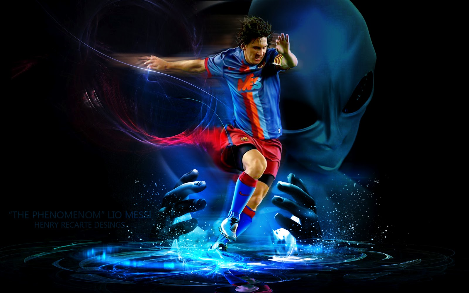 Messi Hd Wallpapers HD Wallpaper High Definition Wallpapers 1600x1000