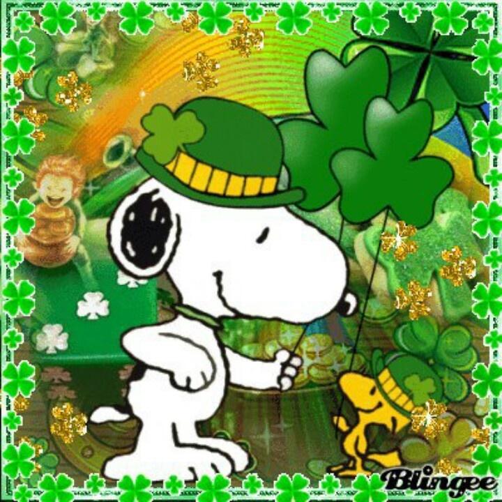 St Patrick Wallpaper: Peanuts St Patrick S Day Wallpaper
