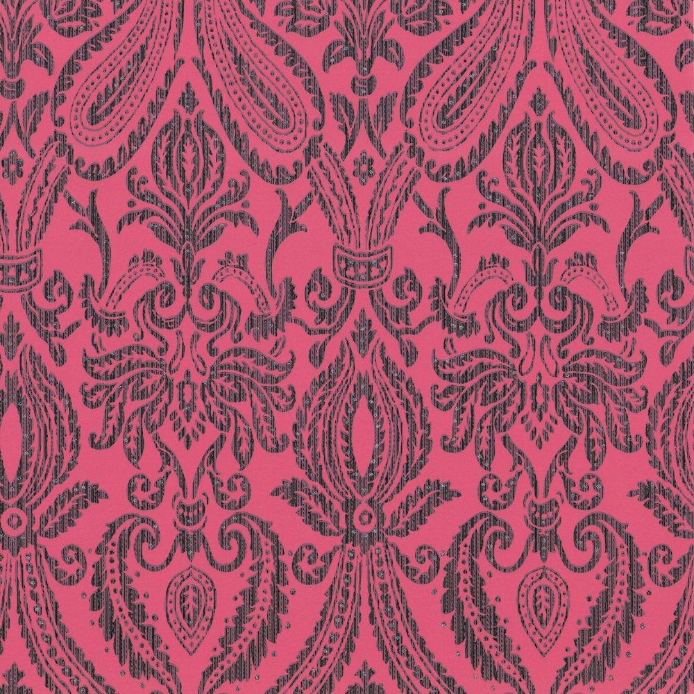 Pink Damask Wallpaper Bedroom Teal And Hot Pink Wallpaper Wallpapersafari
