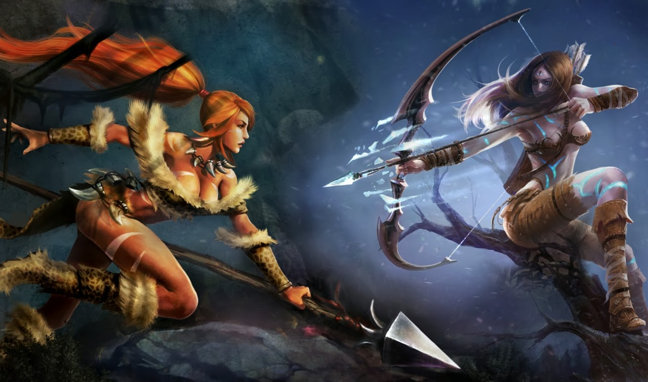 Nidalee Desktop Backgrounds Nidalee LOL Champion Wallpapers 1280x755