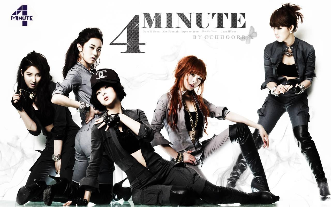 4minute ladies   4Minute Wallpaper 1280x800