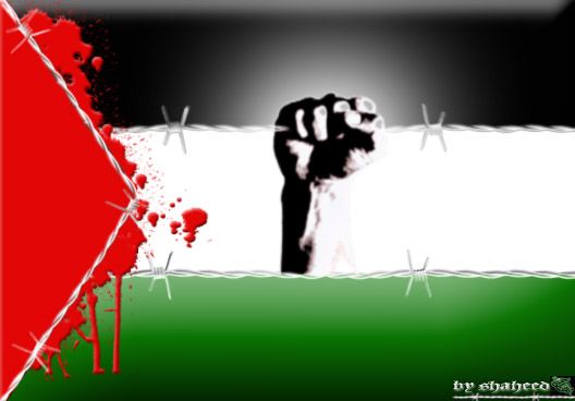 palestine flag by shaheeed 528x368