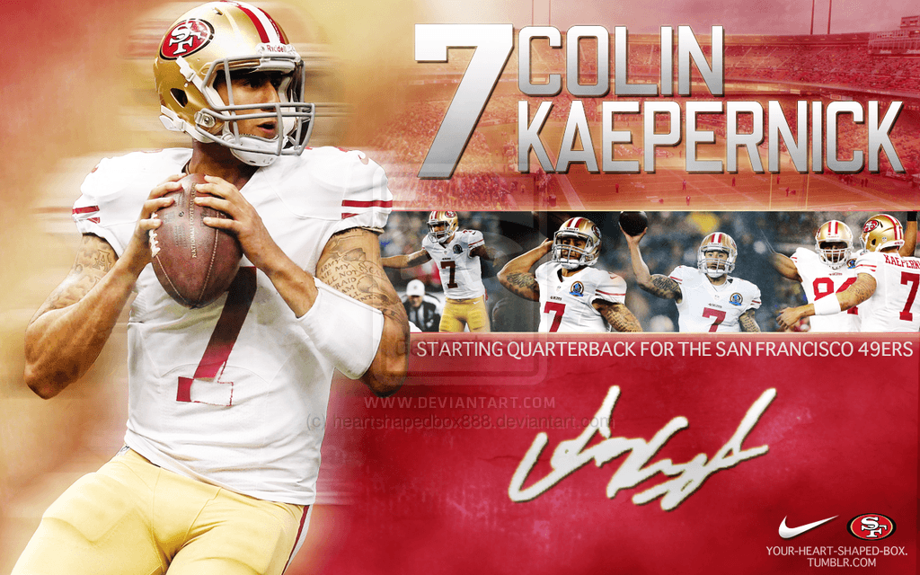 Colin Kaepernick 49ers Wallpapers 1024x640