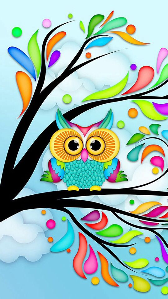 72 Cute Owl Background On Wallpapersafari