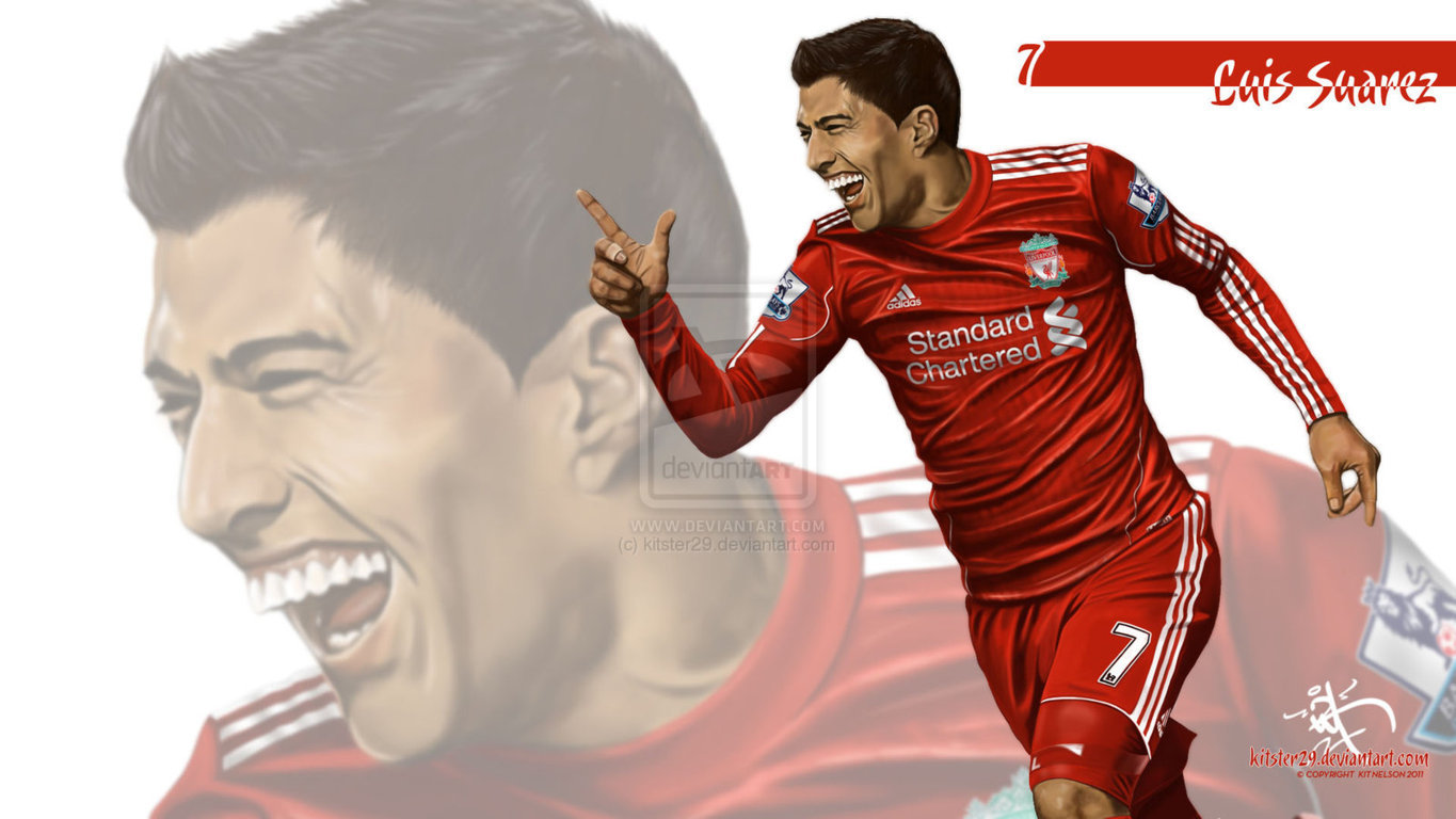 Football Luis Suarez HD And HQ Wallpapers 2013 1365x768