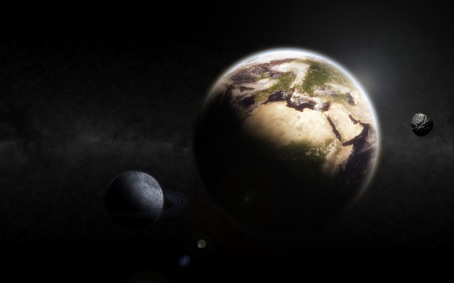 Earth Moon Wallpapers HD Wallpapers 1920x1200