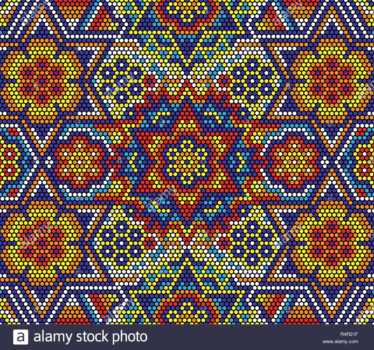 vector illustration of colorful abstract seamless pattern with 1300x1215