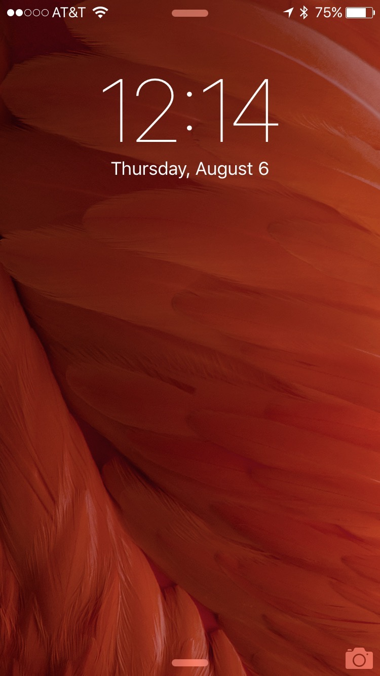 Newest iOS 9 beta comes with some awesome new wallpapers 750x1334