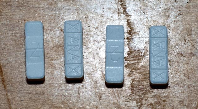 Blue Xanax Bars New Images Blue