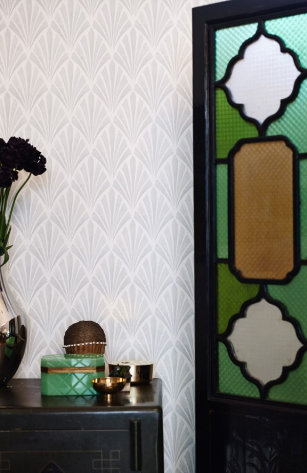 Deco Fan is available to buy from WallpaperDirect 600x925