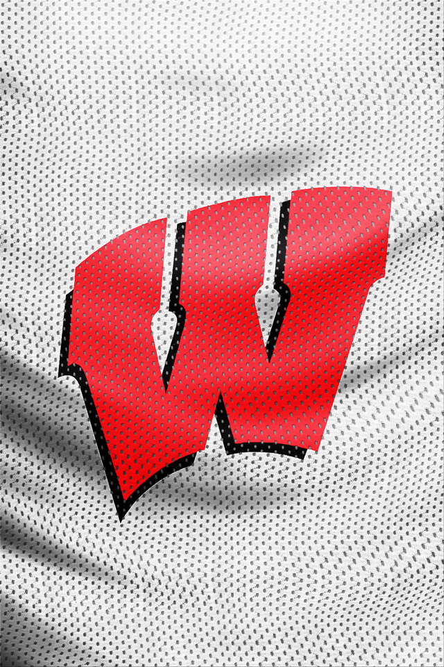 Wisconsin Badgers Logo Wallpaper Wisconsin badger logo 640x960
