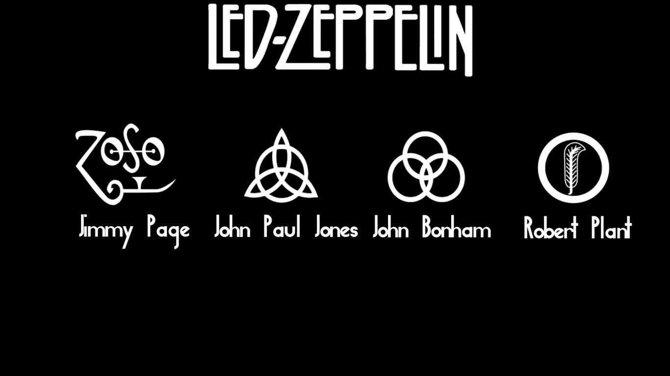 Free Download Tags Hard Rock Led Zeppelin Wallpapers 1366x768