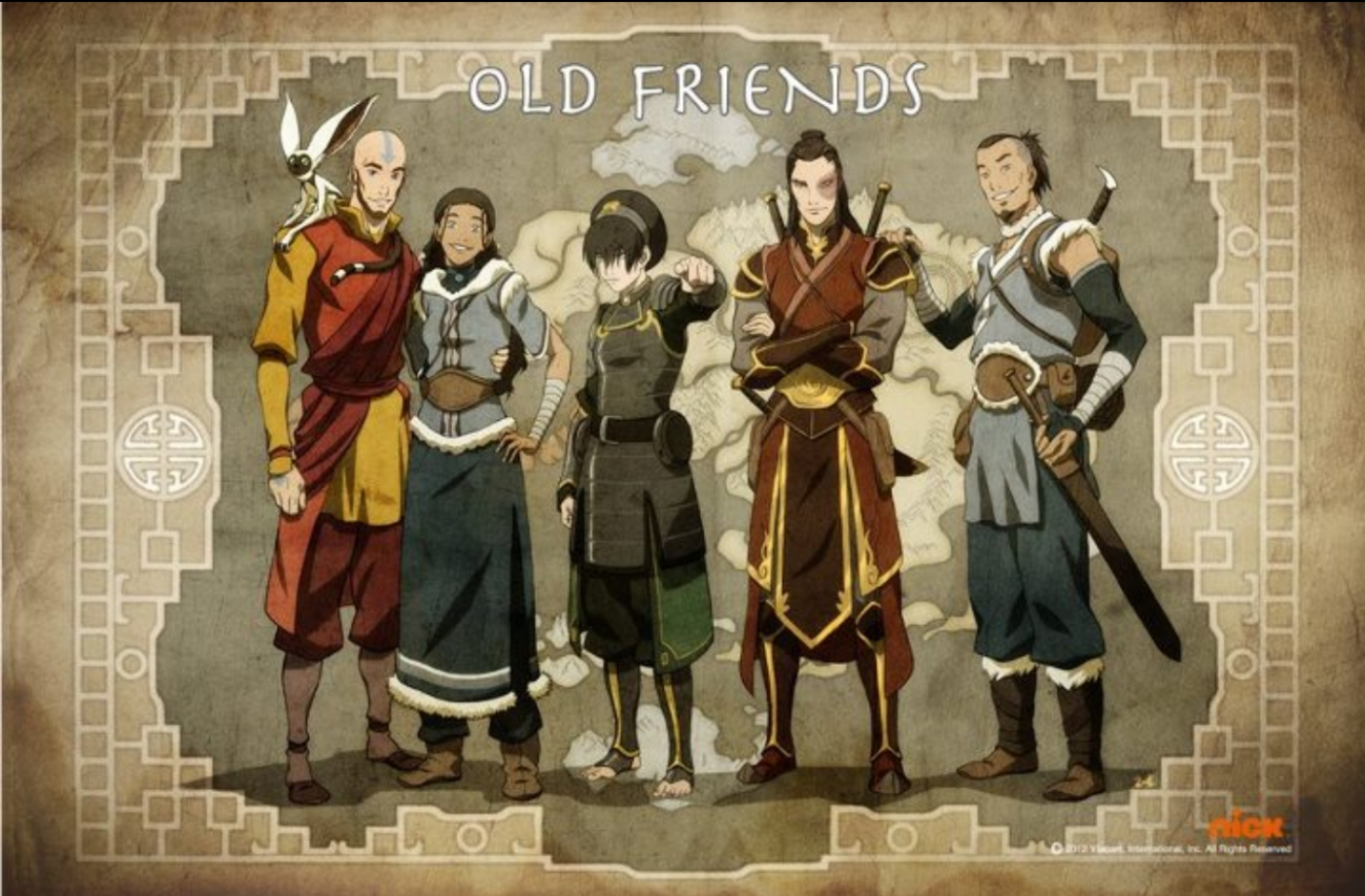 Avatar The Legend Of Korra Characters Wallpaper HD   HD Wallpaperia 1404x922