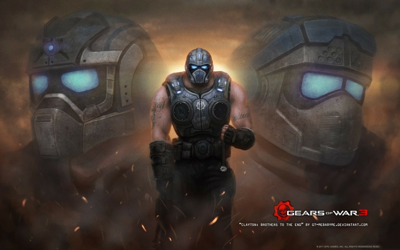 gears of war hd wallpaper games video 3 iphone