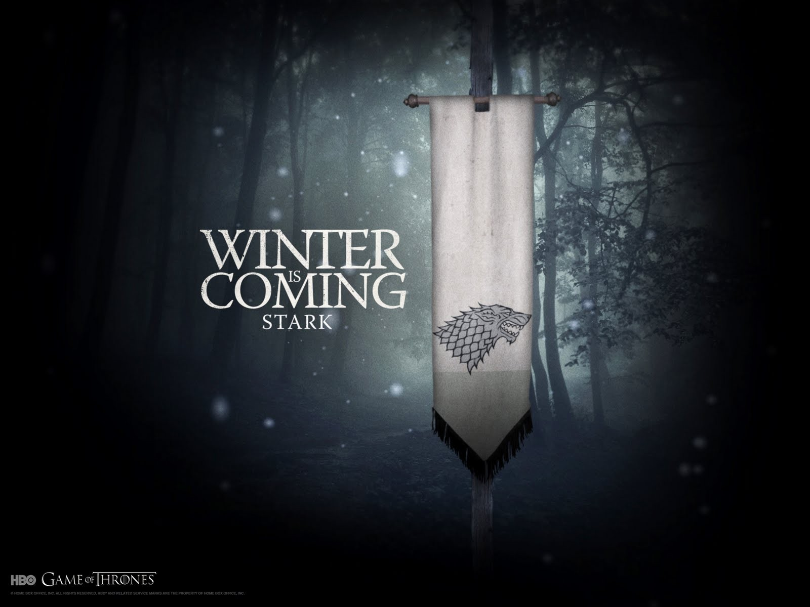 Game Of Thrones HBO Logo HD Wallpaper Background Images 1600x1200