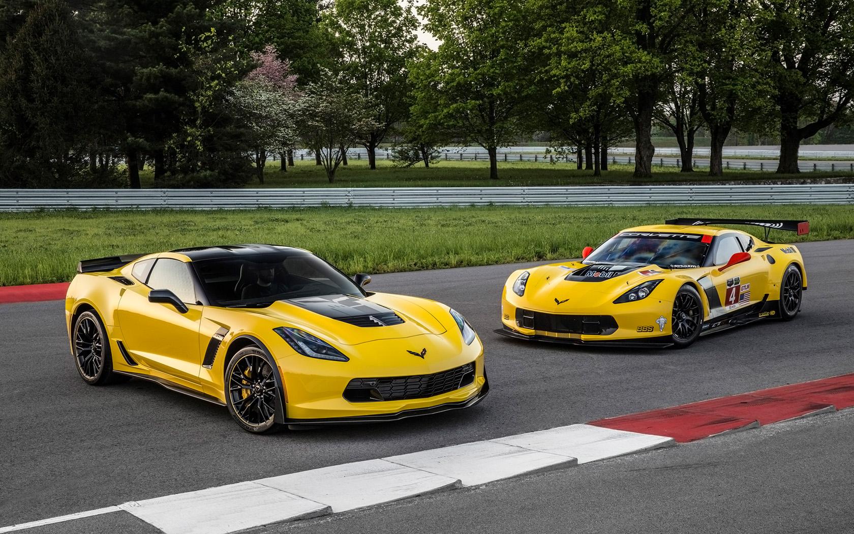 2016 Chevrolet Corvette Z06 C7R Edition   Duo   2   1680x1050 1680x1050