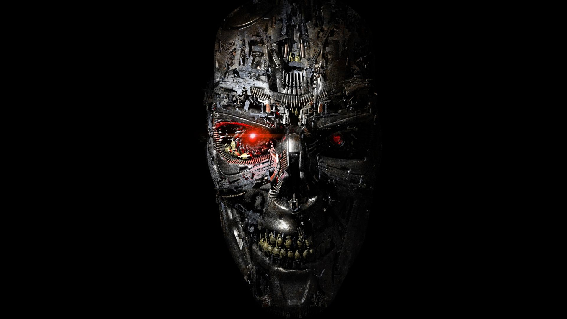 Full HD 1080p Terminator Wallpapers HD Desktop Backgrounds Sci 1920x1080