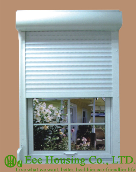 Manual Control Electric Aluminum Roller Shutter window For Apartment 449x568