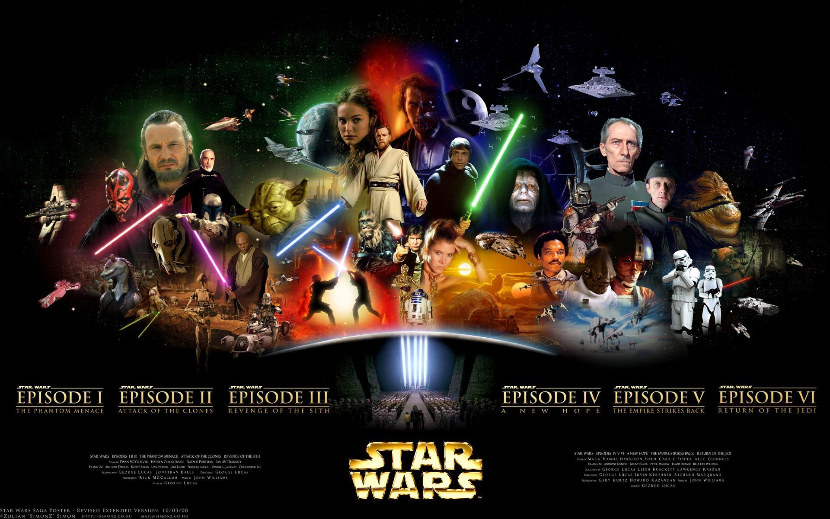 Largest Collection of Star Wars Wallpapers For Download 2880x1800