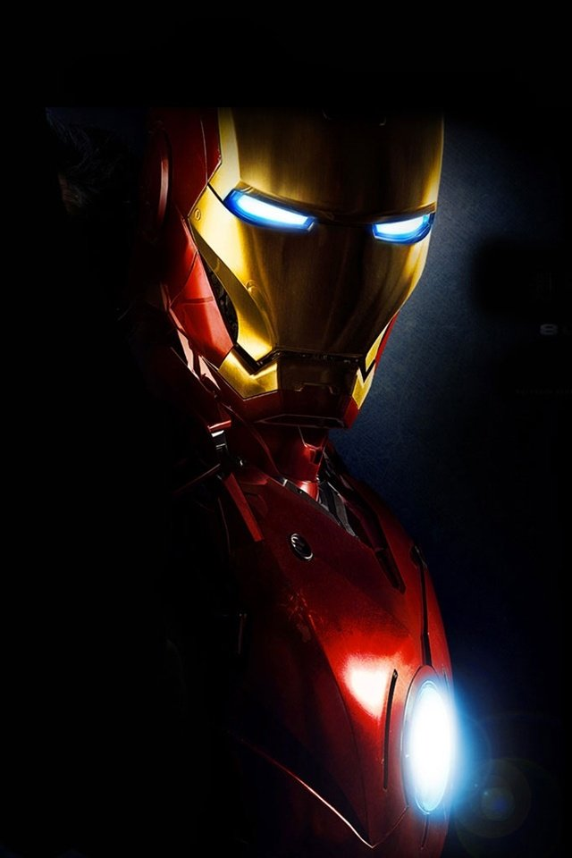 Marvels Iron Man iPhone Wallpaper Fan Art   Wallpapers   iPhone 640x960