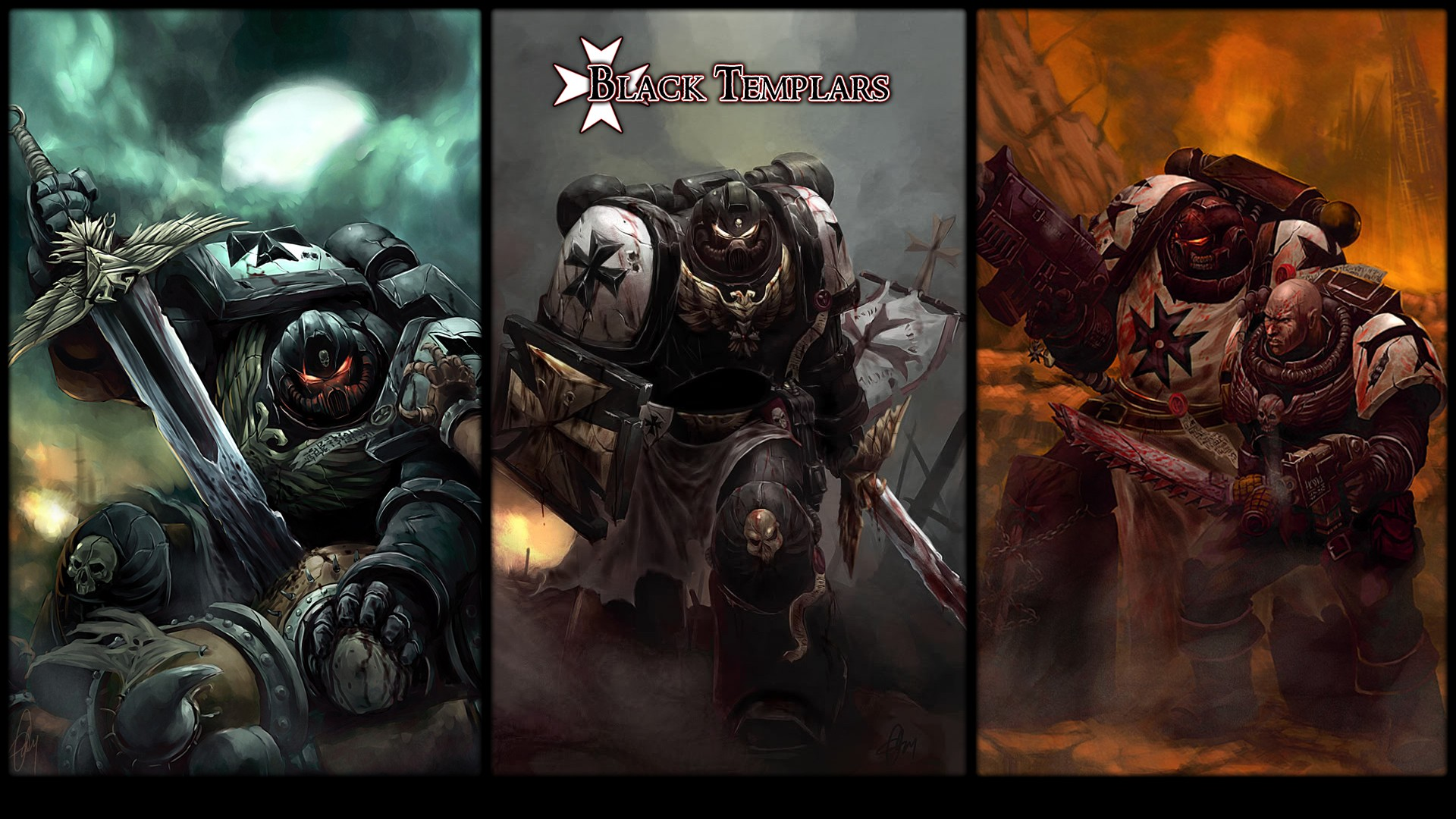 warhammer 40k space marine wallpaper - wallpapersafari