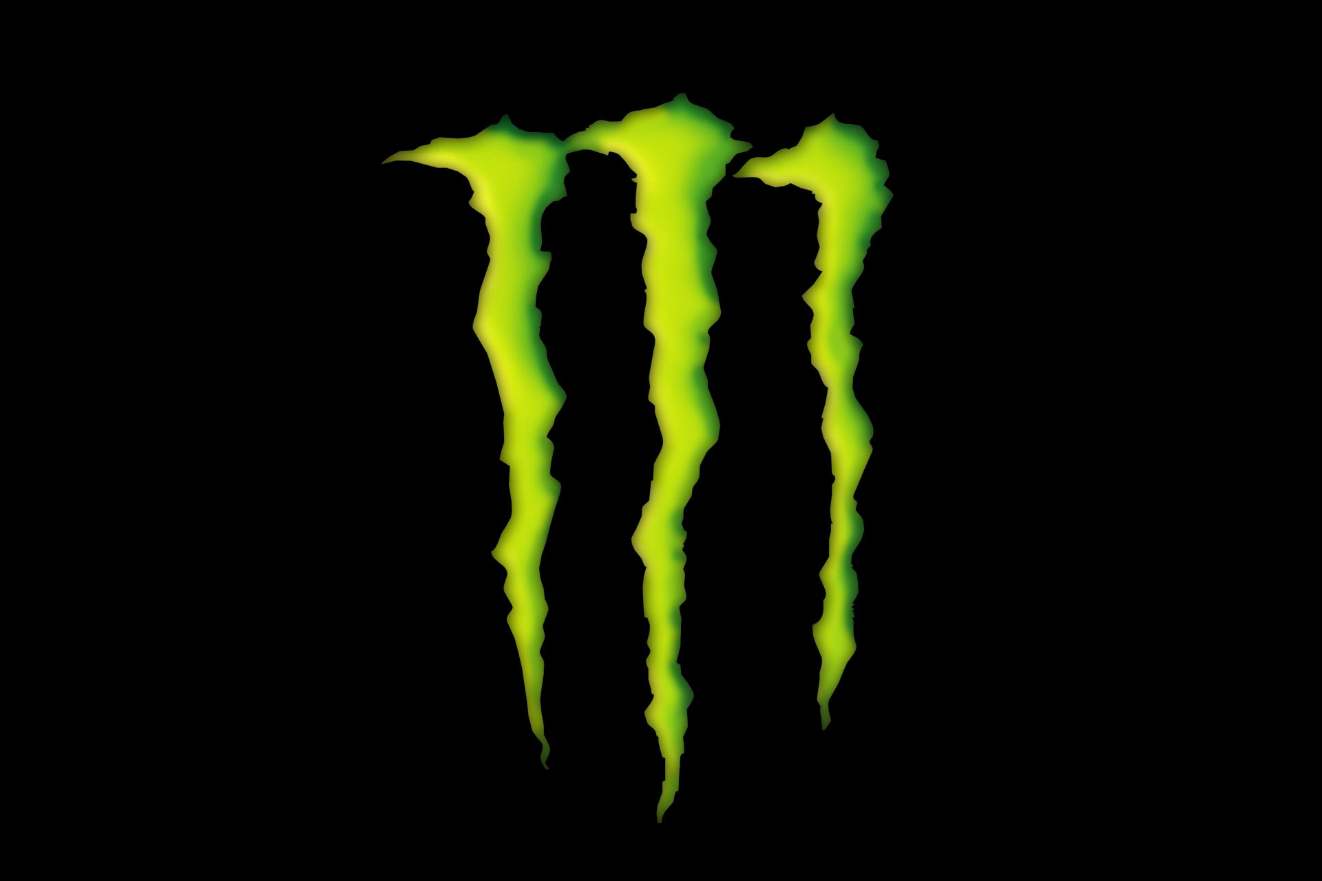 Monster Energy Drink Logo in 3D Wallpaper for Amazon Kindle Fire HD 7 1920x1280