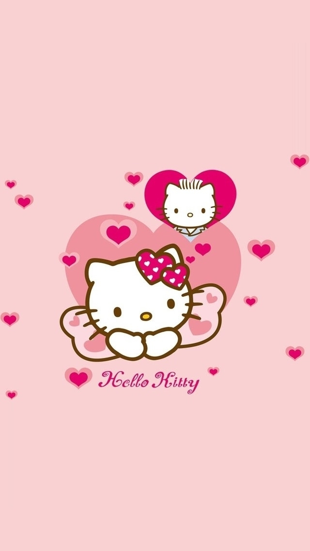 pink hello kitty iphone 5 wallpapers hello kitty iphone 5 wallpapers 640x1136