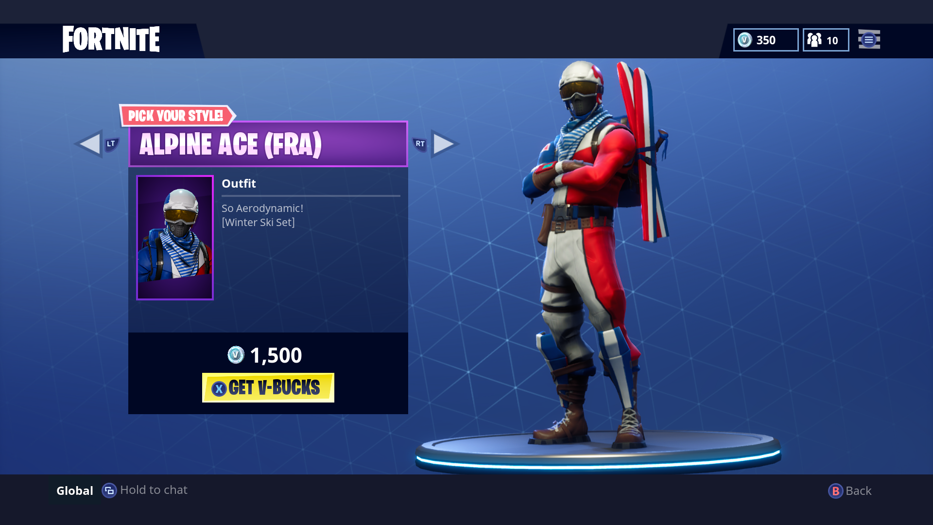 Free Download Fortnite Battle Royale Releases New Skins On Ps4 Xbox One And 1920x1080 For Your Desktop Mobile Tablet Explore 13 Alpine Ace France Fortnite Wallpapers Alpine Ace France