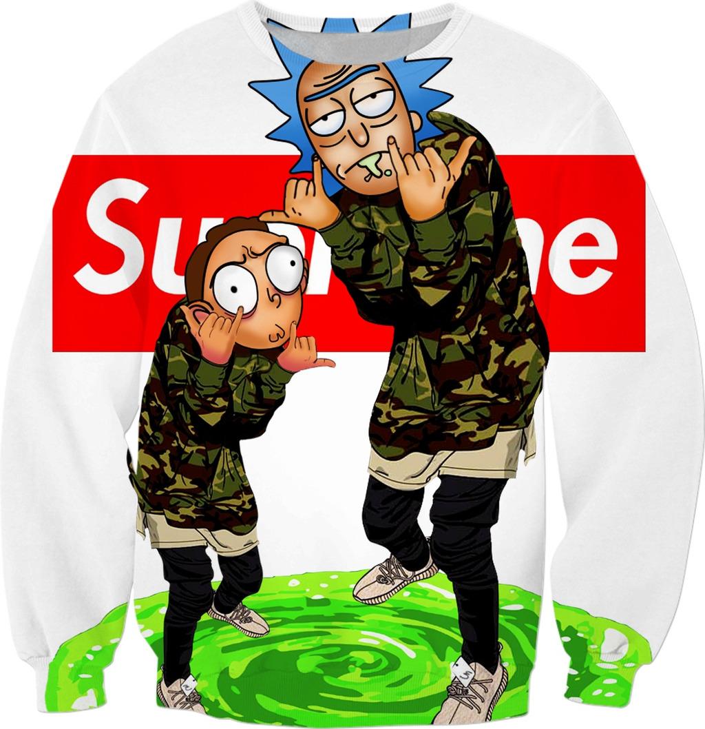 13] Rick And Morty Supreme Wallpapers on WallpaperSafari 1024x1058