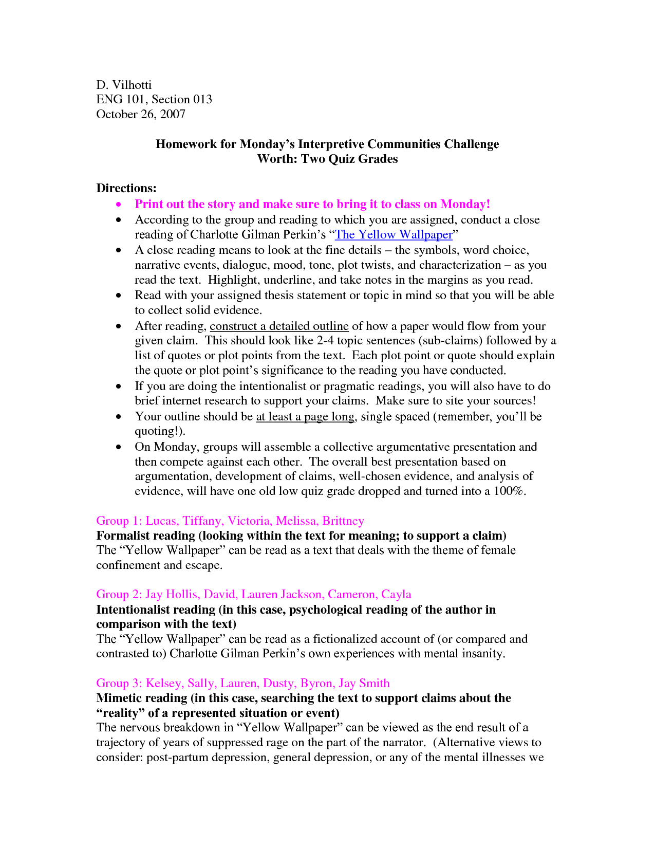 essay outline for the yellow wallpaper 1275x1650