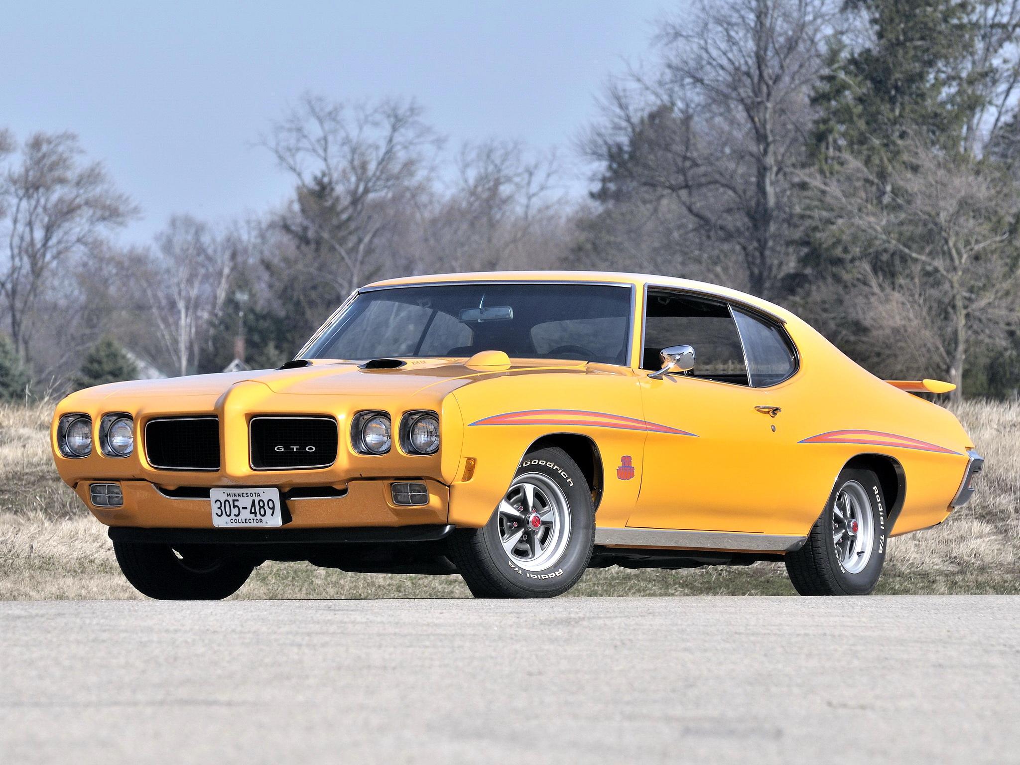 1970 Pontiac GTO Judge Hardtop Coupe 4237 muscle classic h wallpaper 2048x1536
