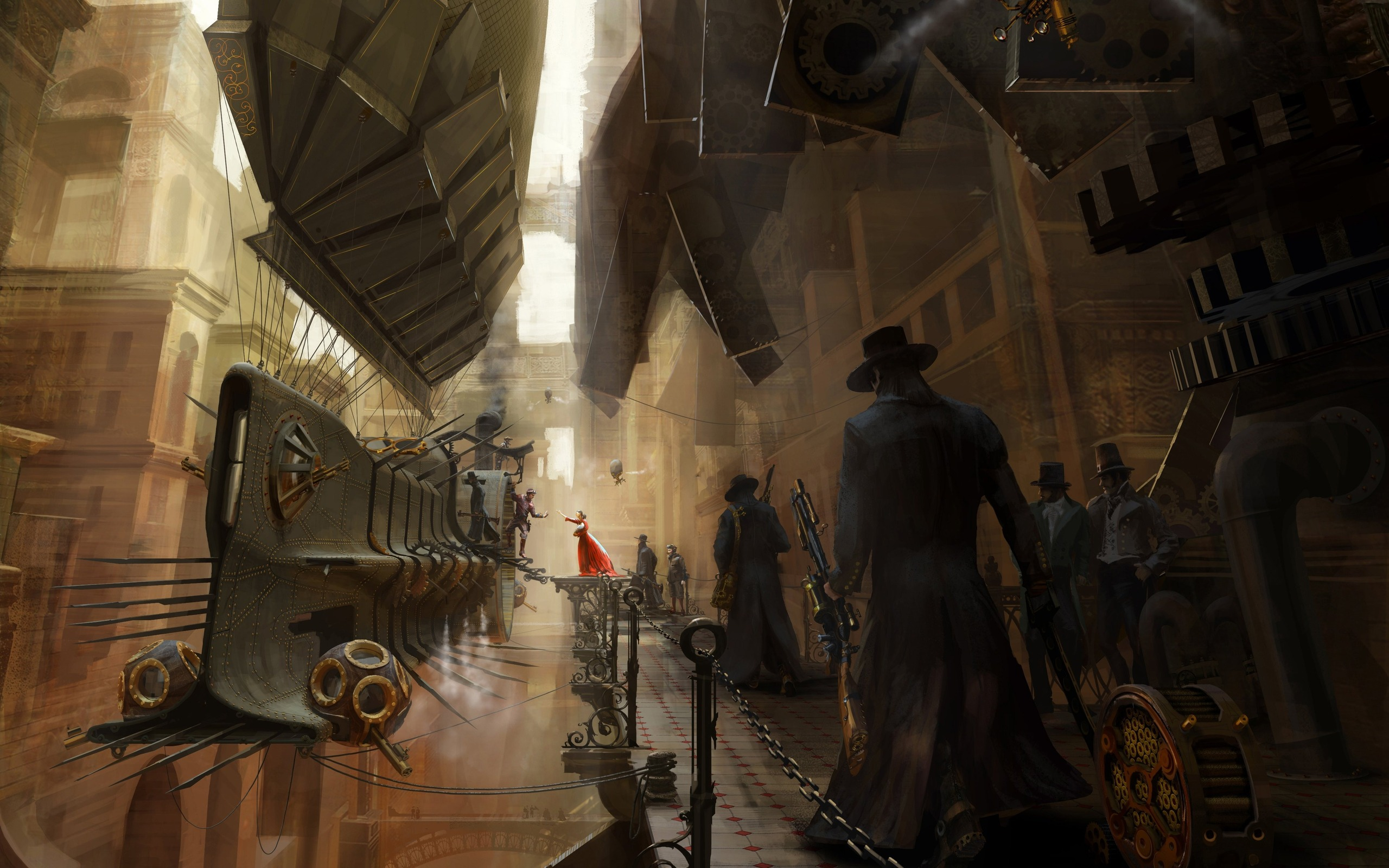 Steampunk Wallpaper Widescreen Images amp Pictures   Becuo 2560x1600