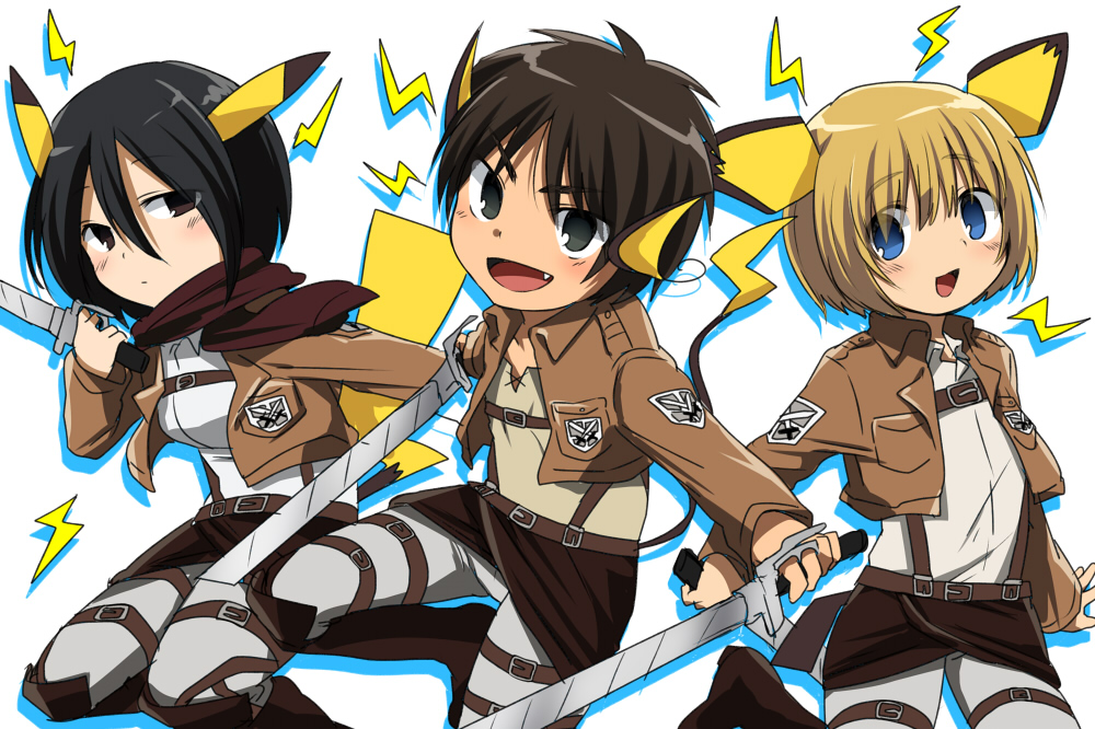 download Attack on Titan Chibi Chibi Photo 35022024 [1000x666 1000x666