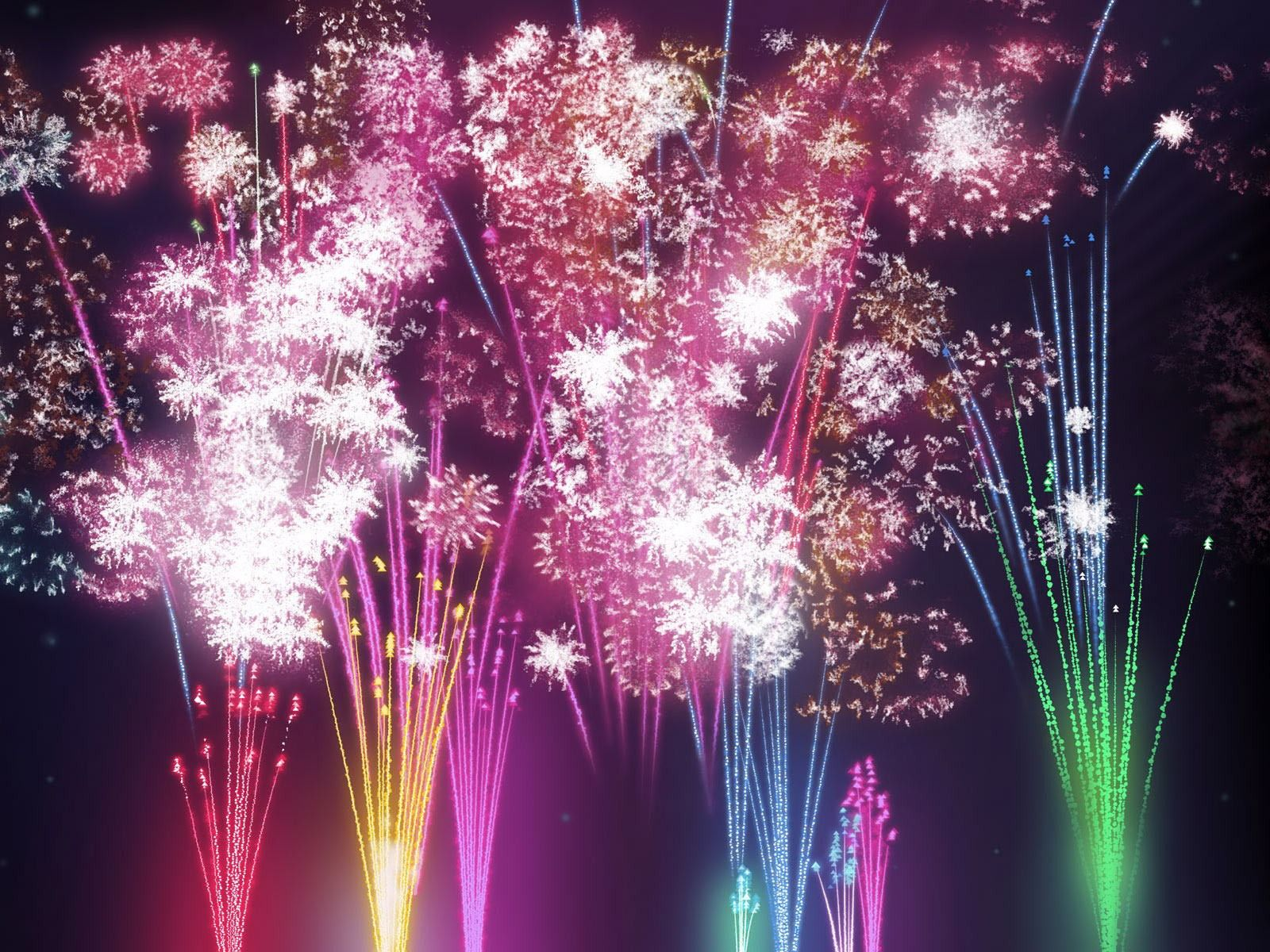 Fireworks desktop wallpaper Desktop Fireworks background New 1600x1200