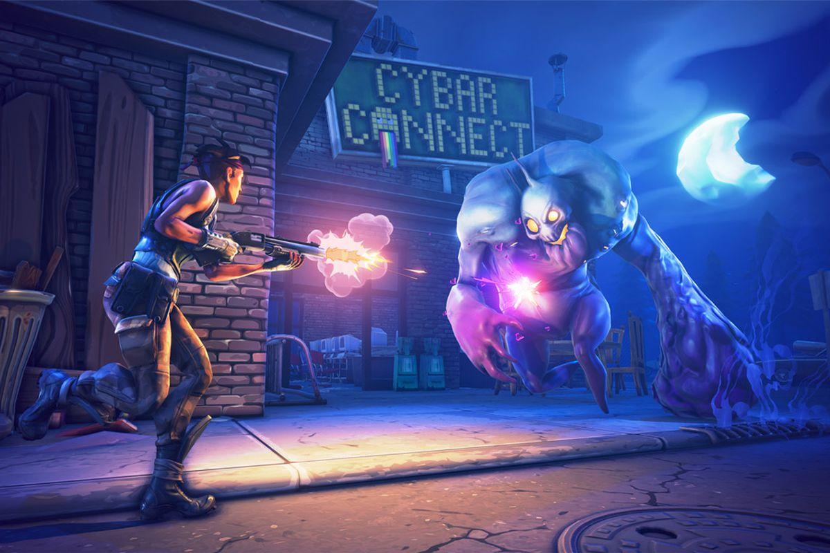 Fortnite briefly features PS4 and Xbox One cross platform 1200x800