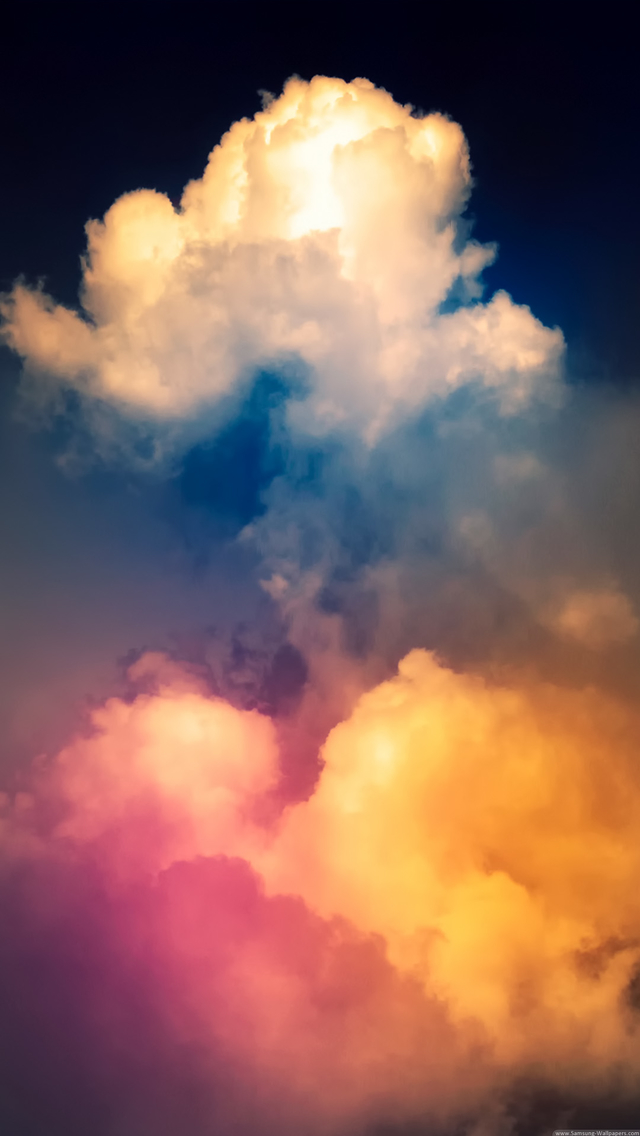 Colorful Smoke Wallpaper   iPhone Wallpapers 640x1136