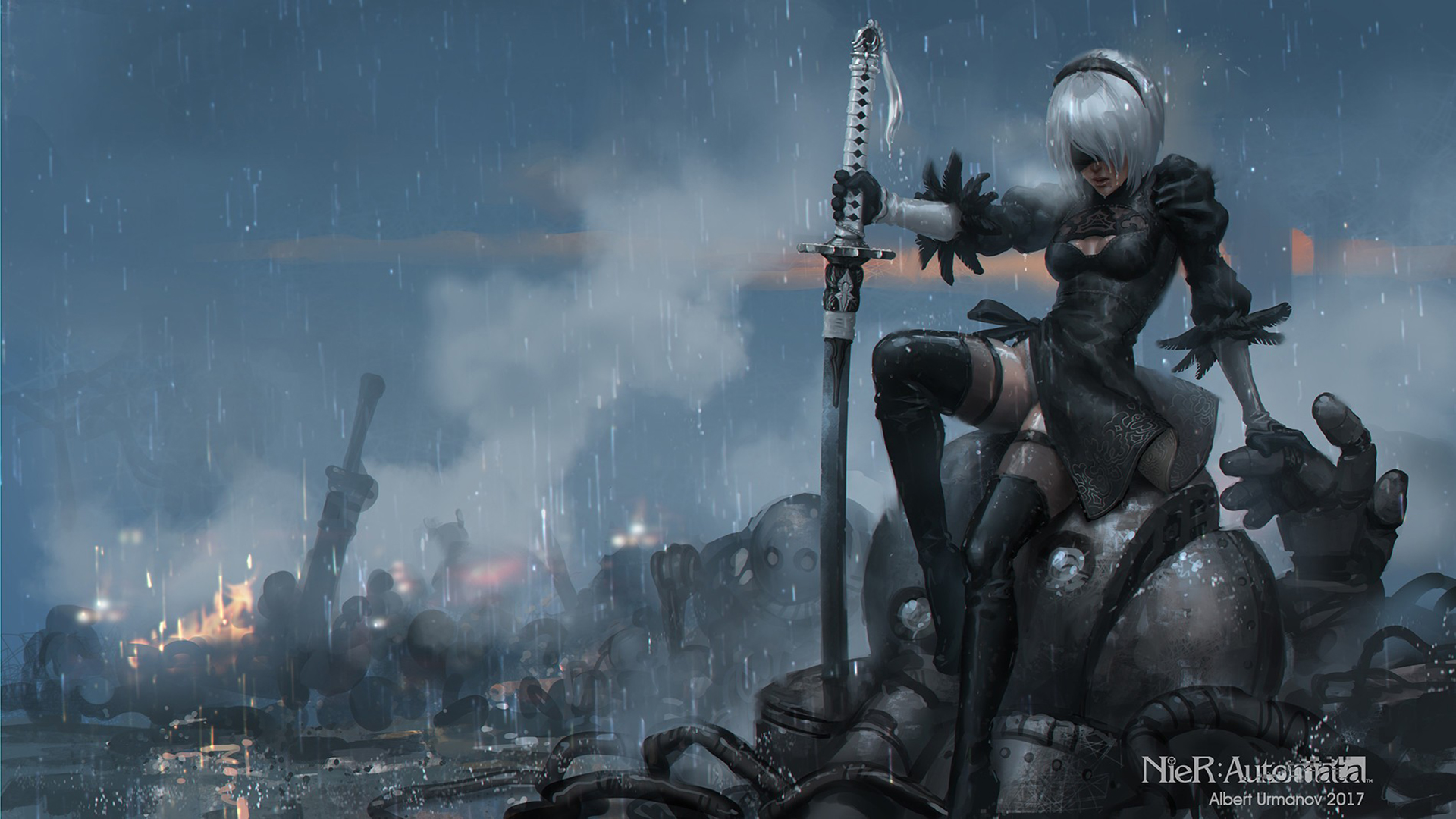 Free Download Nier Automata Game 279 Wallpapers 3 1920x1080 For