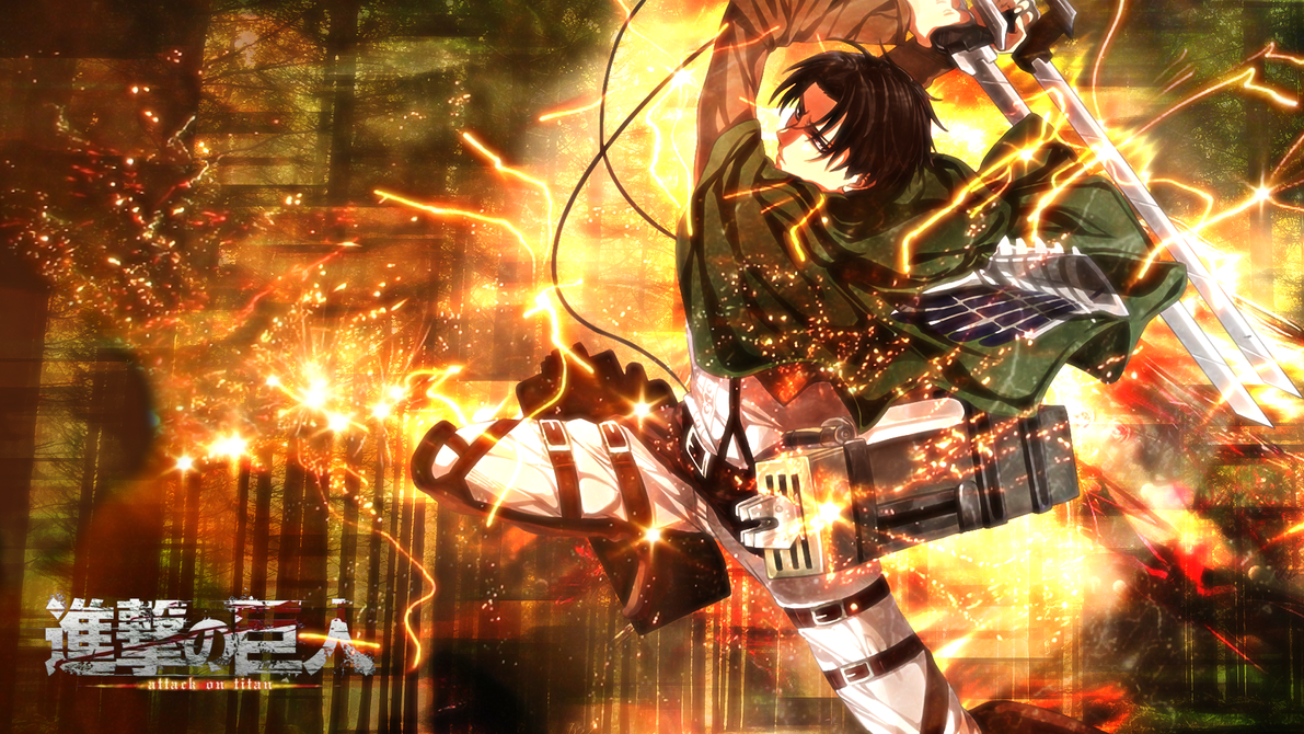 Levi Attack on Titan Wallpaper Desktop and mobile wallpaper 1191x670
