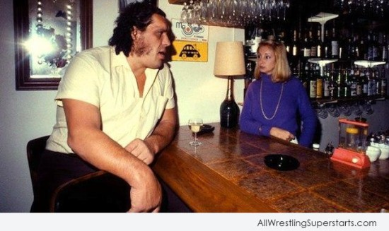 Andre The Giant   WWE Superstars WWE Wallpapers WWE PPVs 550x327