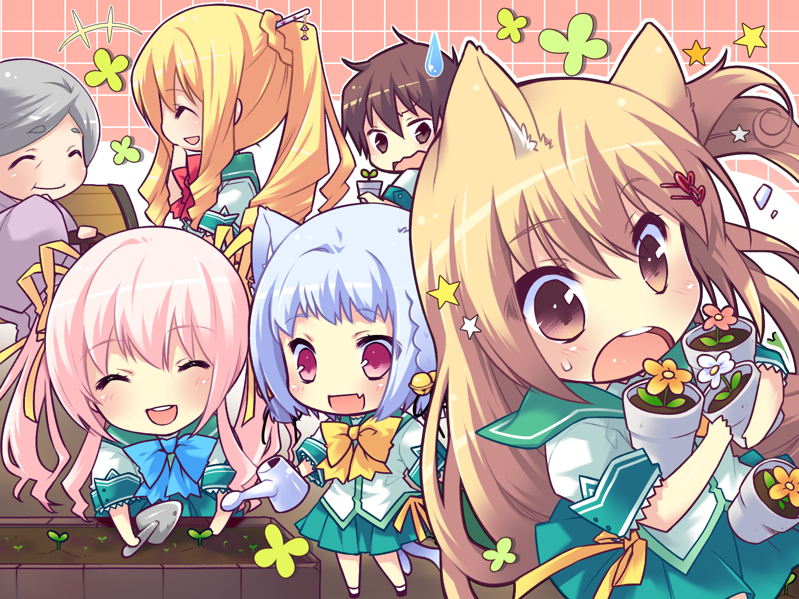 download chibi anime wallpaper which is under the anime wallpapers 1600x1200