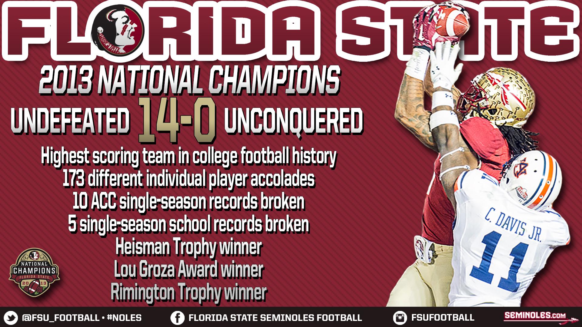 Florida State Seminoles Football 2013 Wallpaper Fsu football national 1920x1080