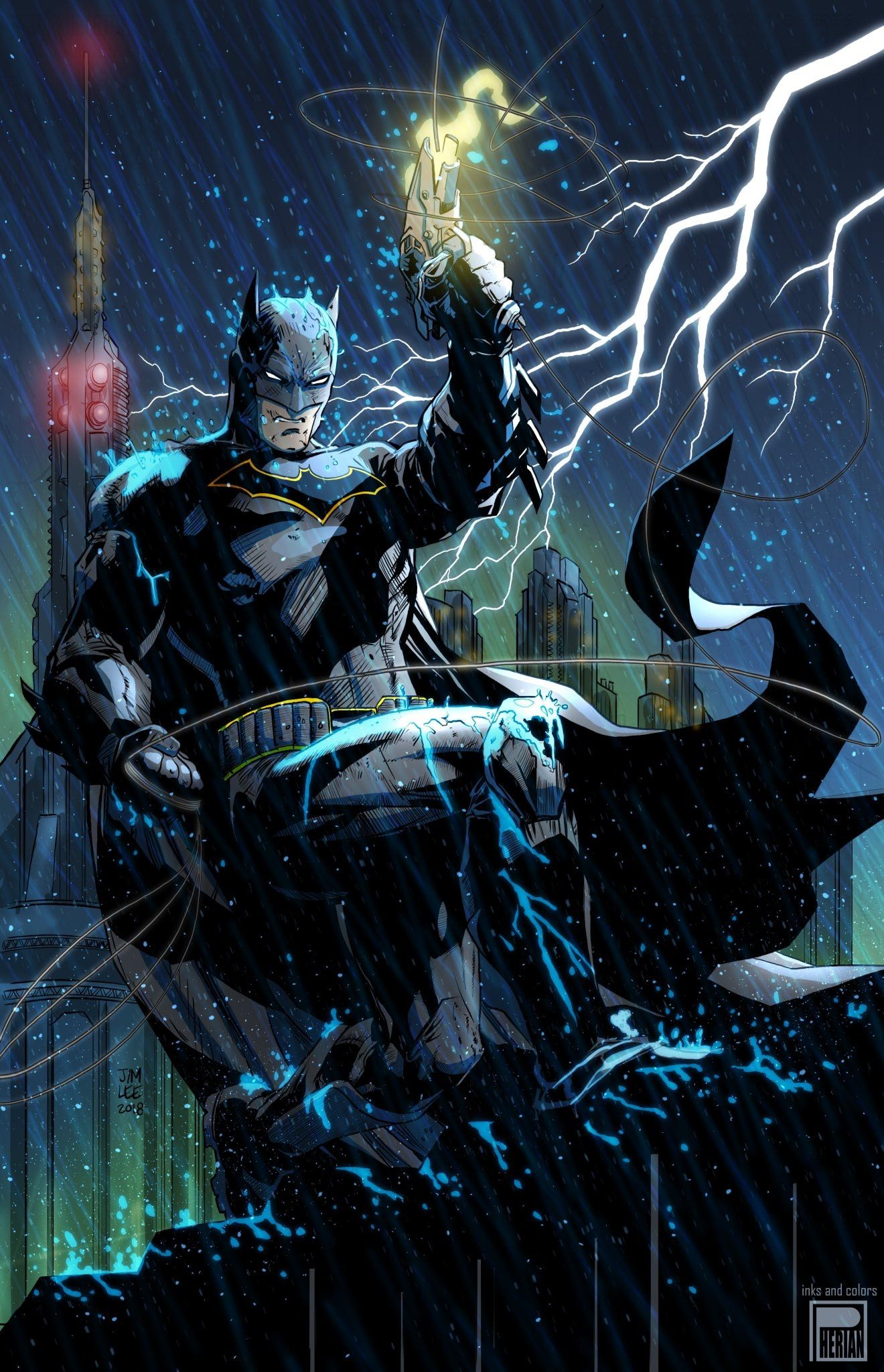 Batman by Jim Lee B A T M A N Batman Batman wallpaper Batman 1320x2048