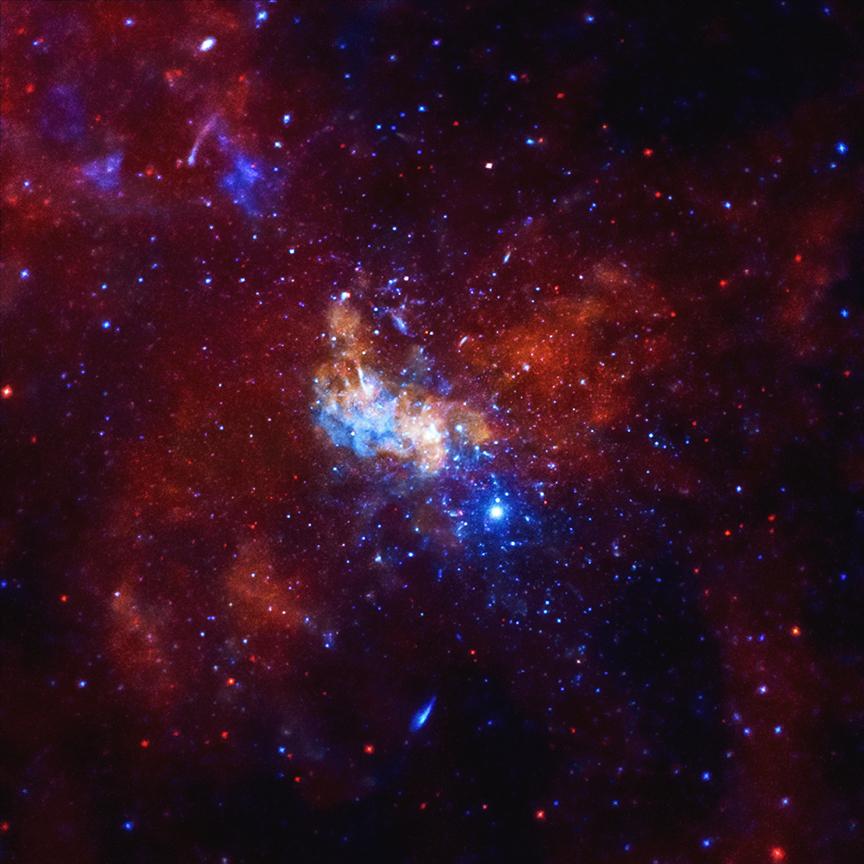Chandra Photo Album Sagittarius A November 13 2014 864x864