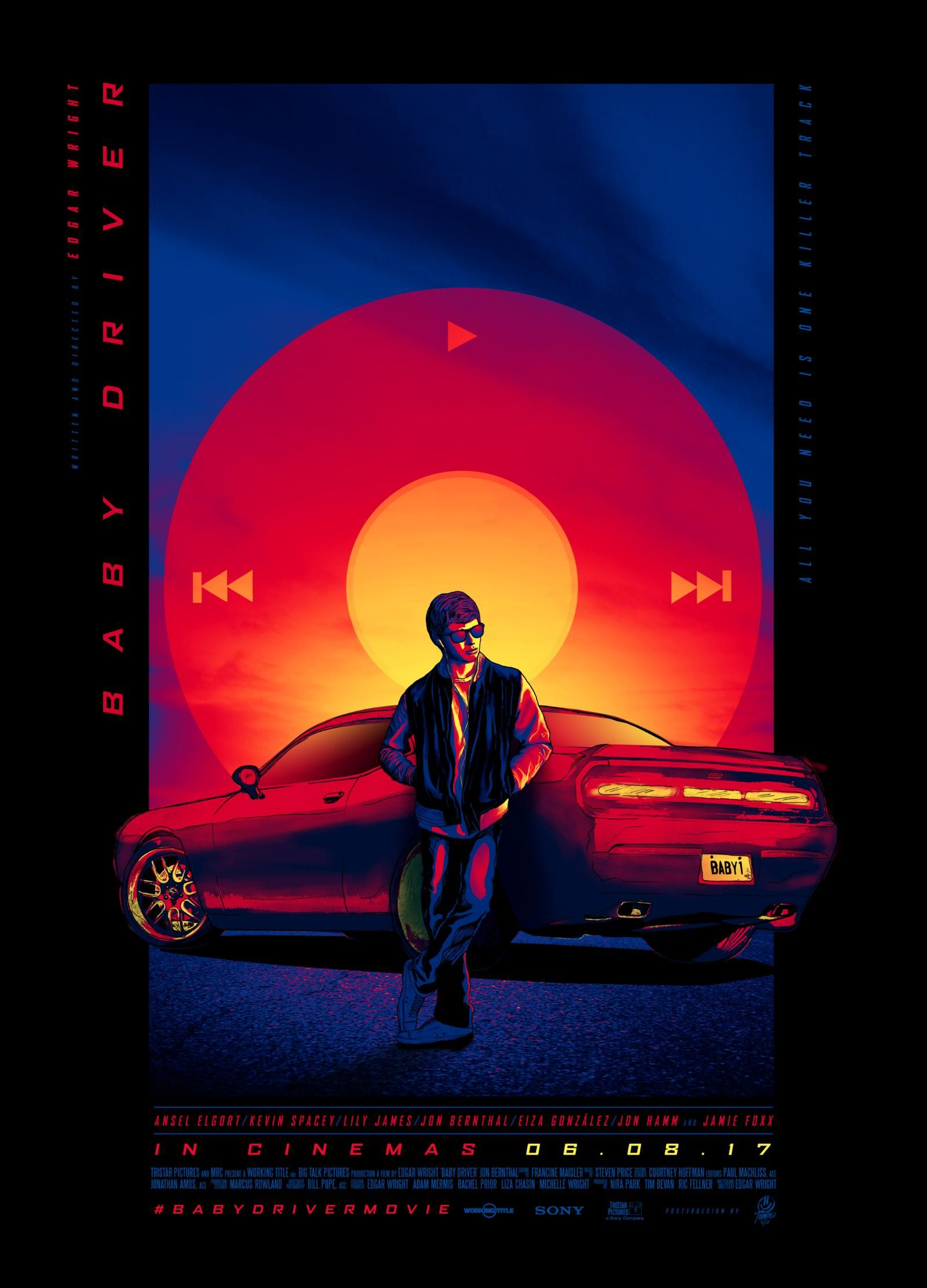Baby Driver 2017 HD Wallpaper From Gallsourcecom Baby driver 1600x2222