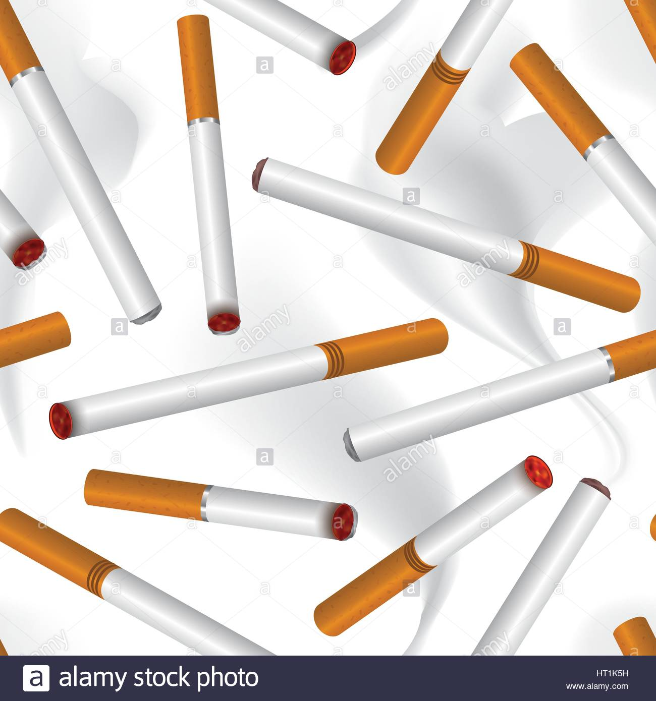 Cigarette smoke seamless background Smoking aer pattern Stock 1300x1390