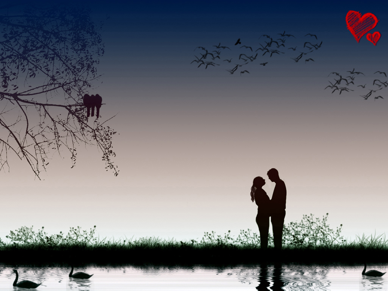 wallpapers Love Couple Wallpapers 1600x1200
