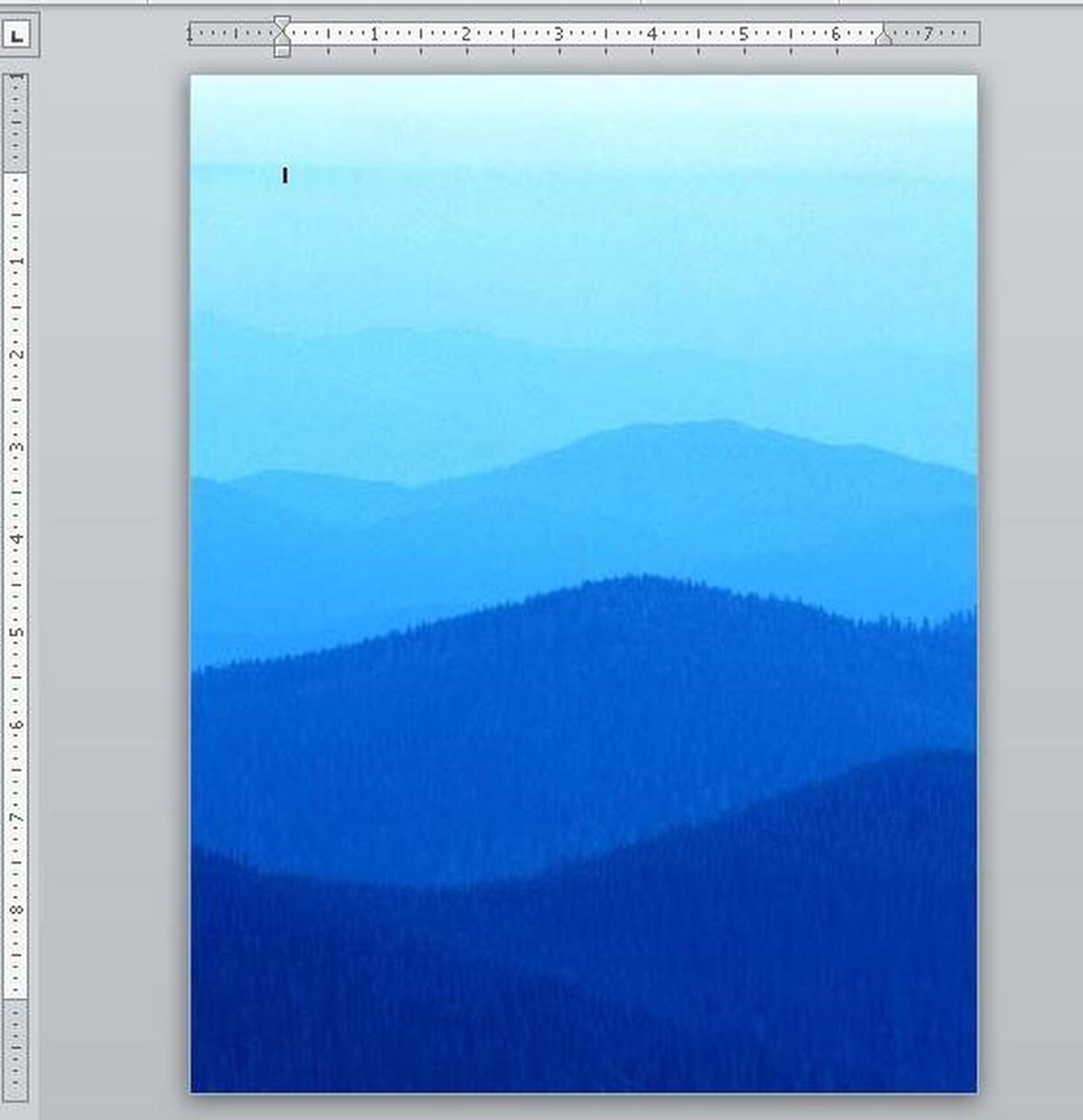 How to add color or a picture to a Word documents background 1200x1241